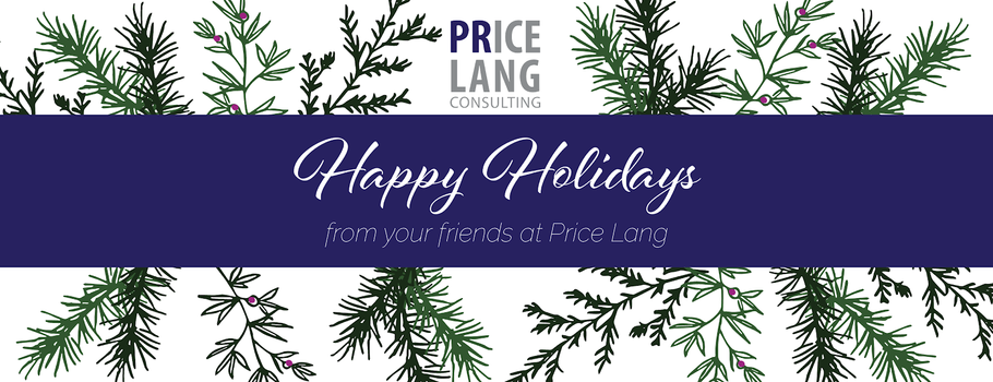 Happy Holidays from your friends at Price Lang