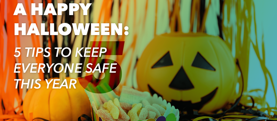 A happy Halloween: Five tips to keep everyone safe this year