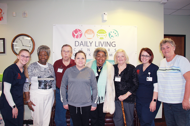 Daily Living Center participants
