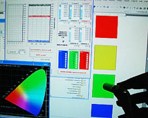 измерение трековых светильников для магазина