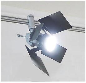светильник для музеев, светильник со шторками