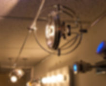 струнные светильники