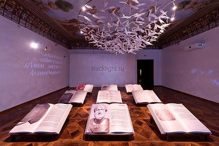 светильники для музеев, светильник с изменяемым углом света