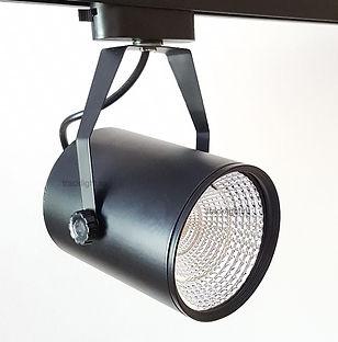 трековый светильник светодиодный черный, однофазный трековый светильник светодиодный, однофазный трековый светильник