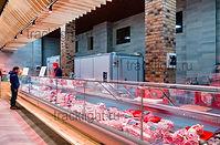 торговое освещение, светильники для мяса