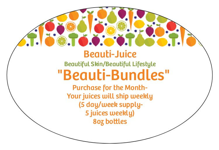 Beauti-Bundle (5 Day Week/8oz bottles)