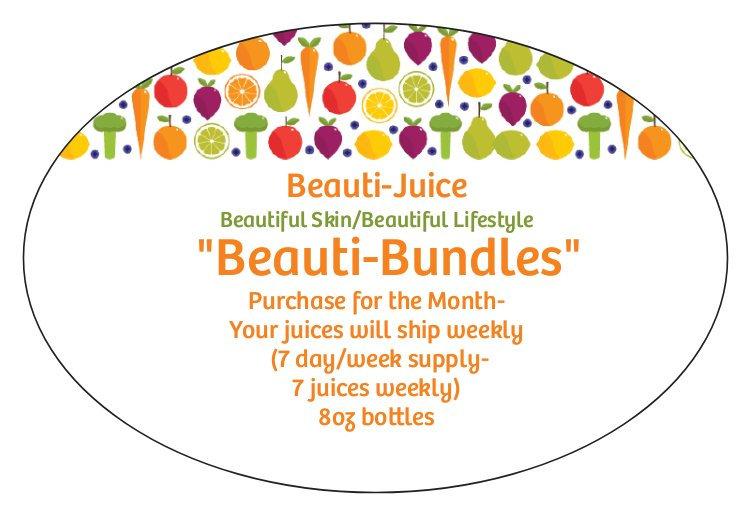 Beauti-Bundle (7 Day Week/8oz bottles)