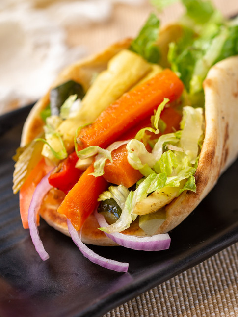 DD-Simply Falafel-Veggie Kabob SandwichI