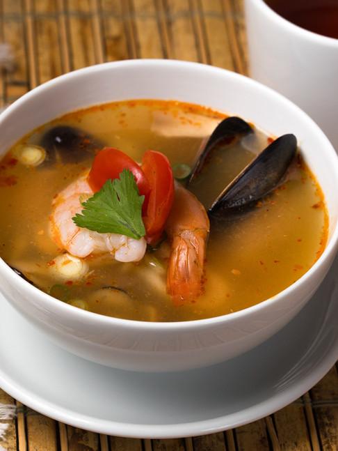 Thai Basil Kitchen-Dish 5 soup-IMG_9157-