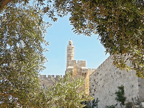 Tower of David Jerusalem Israel