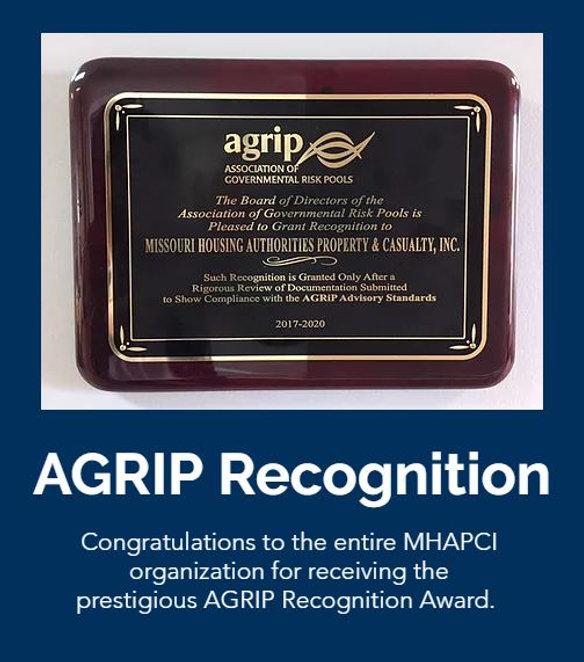 Agrip Award and Words.JPG