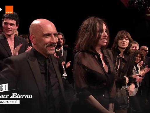 Gaspar Noé's LUX ÆTERNA: longer clip + red carpet & standing ovation