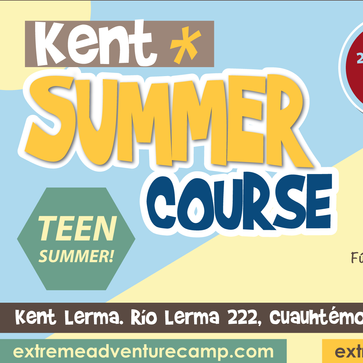 KENT SUMMER COURSE 2019