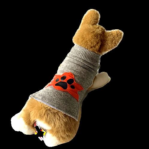 Sweater Lily- Grey Dog