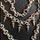 Thumbnail: Karnival Necklace with Daggars starts at