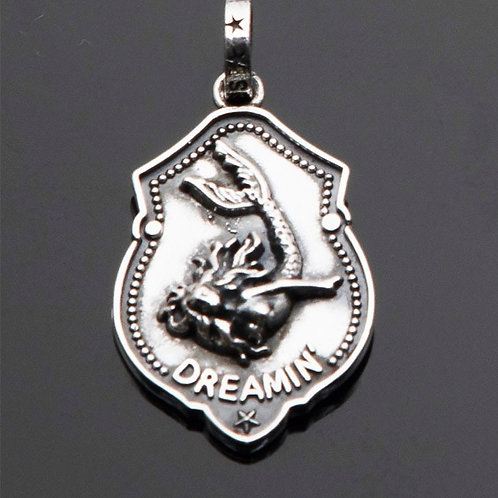 Dreaming Mermaid Medallion