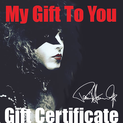 Gift Certificate starts at