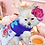 Thumbnail: Tea Party Tee Dress - Blue Flower