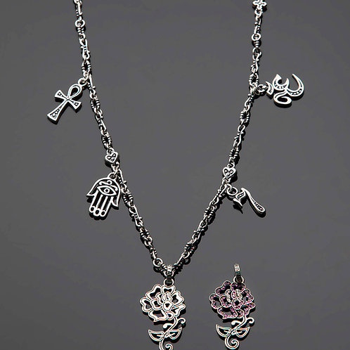 Nirvana Necklace with Rose Tattoo starts at