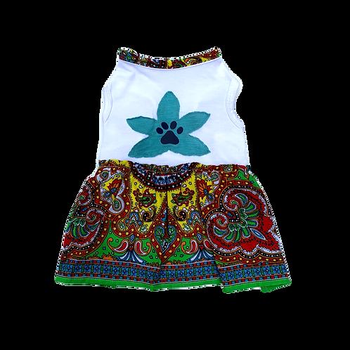 Mandala Dress - Blue Flower