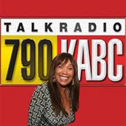 Anita Pointer live on KABC radio