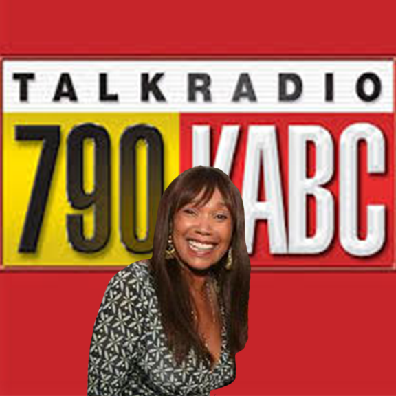 Anita Pointer live on KABC radio