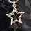 Thumbnail: Star Struck pendant with Pave Cubic Zirconia