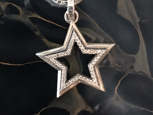 Star Struck pendant with Pave Cubic Zirconia