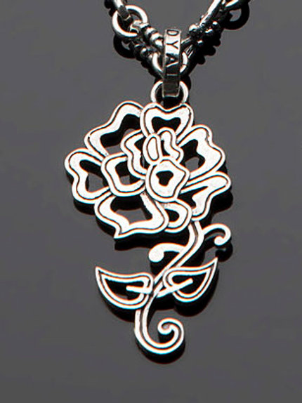 Rose Tattoo Pendant