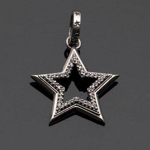 Star Struck Pendant with Pave Diamonds