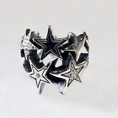 Large Starburst Constellation Ring / Pave Diamonds starts at