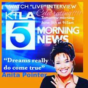 Anita Pointer Interview on KTLA 5
