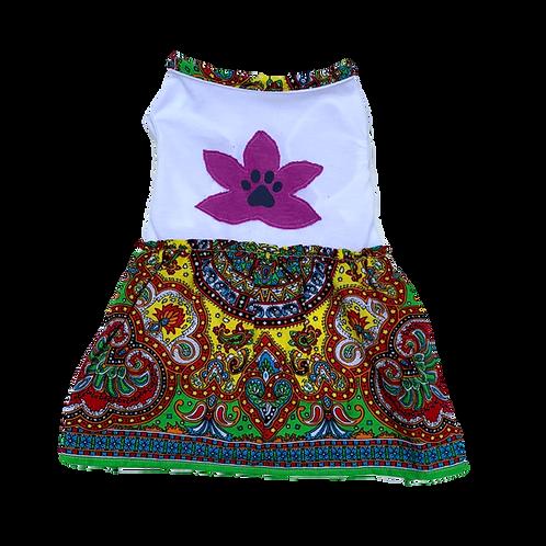 Mandala Dress - Purple Flower