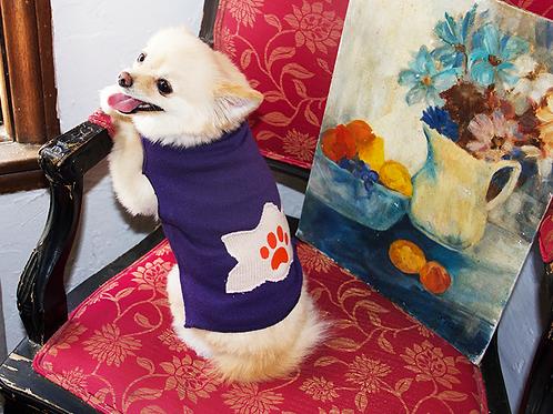 Sweater Lily- Purple Dog