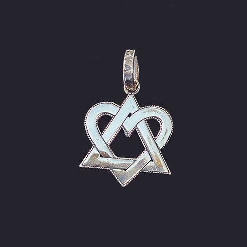 The Royal Heart Star Pendant