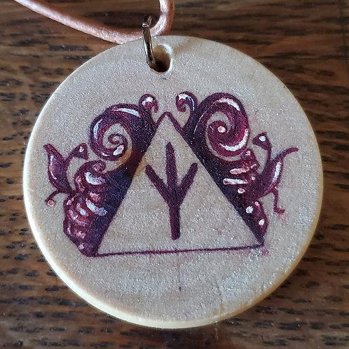 Elhaz Rune Pendant/Ornament