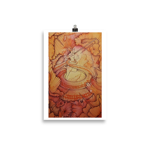 7 of Wands: Poster