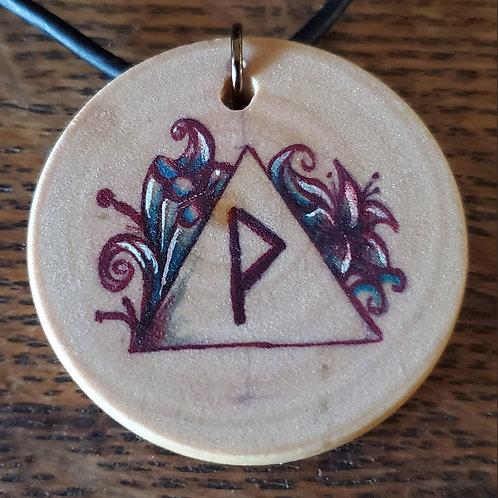 Wunjo Rune Pendant/Ornament
