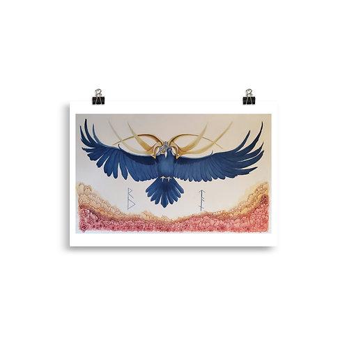 The Odin Raven: Poster   Unframed