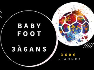 BABY FOOT à MARSEILLE pour les 3-6 ans