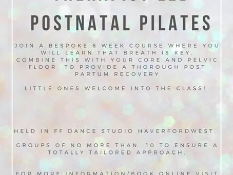Postnatal Pilates is back!!