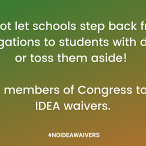 #NoIDEAwaivers
