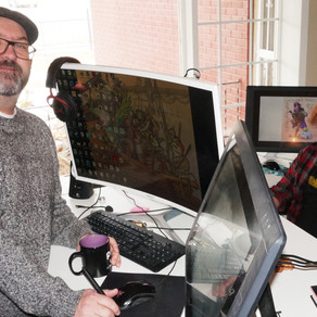 In the News: Father & Son Create Dyslexic Hero for DC Comics