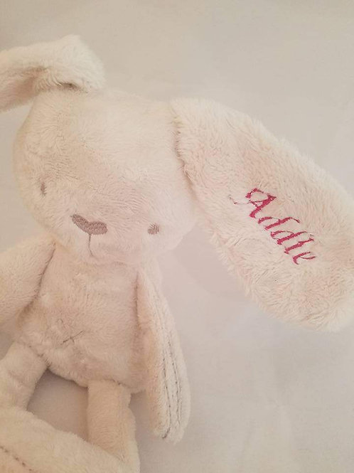 Super soft & snuggly aromatherapy bunny (w/embroidered name)
