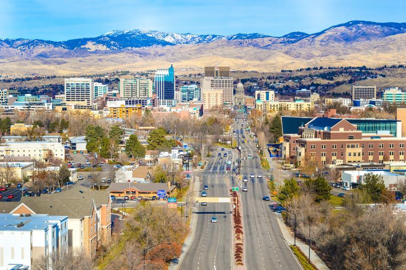 Boise Idaho Down Town