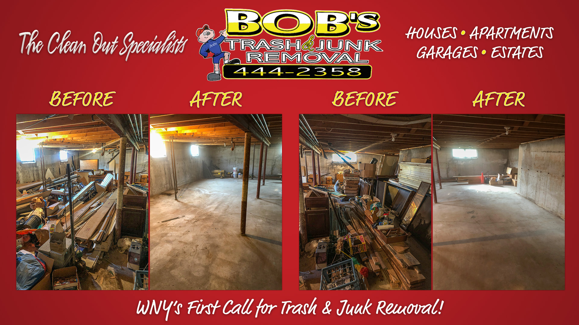 Basement Junk Gone!