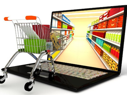 How the Online Shopper navigates websites to select grocery products