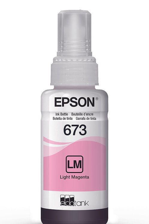 Botella De Tinta Epson T673 Magenta claro