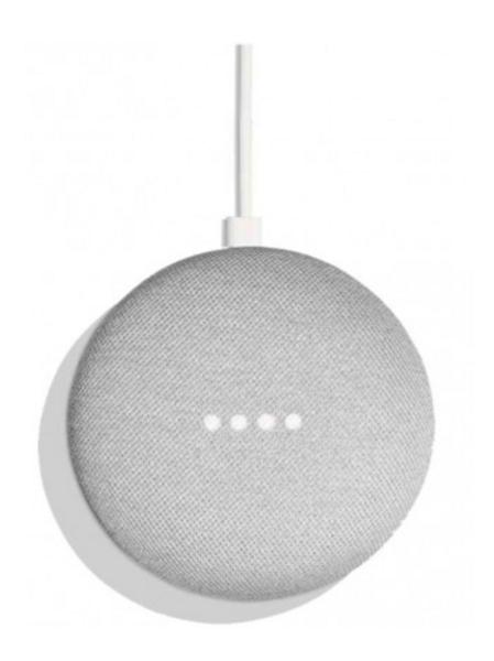 Google- Parlante inteligente con Google Assistant, con empaque en español