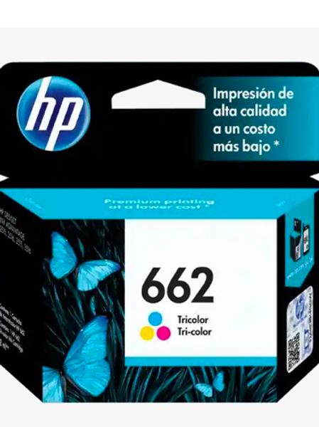 Tinta 662 Tricolor HP CZ104AL